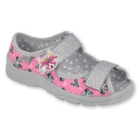 Befado lasten kengät 969X162 pinkki hopea