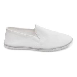 Lycra BL181-2 Valkoinen Slip-On Tennarit