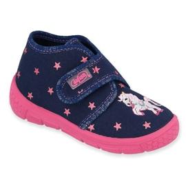 Befado lasten kengät 538P015 laivasto pinkki