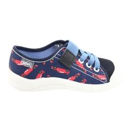 Befado lasten kengät 251X160 punainen laivasto sininen