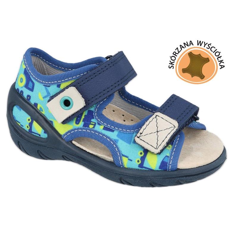 Befado lasten kengät pu 065X156 laivastonsininen sininen vihreä