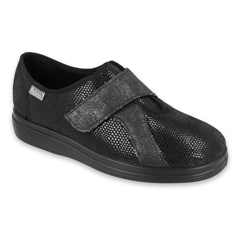 Befado naisten kengät pu 039D002 musta