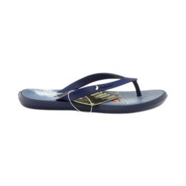 Tummansininen flip flops lasten kengät flip-flops Rider 1307 laivasto