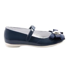 Ballerinas lasten kengät Bartek 45418 tummansininen