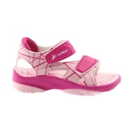 Pinkki Vaaleanpunaiset sandaalit lasten tarranauhat vedelle Rider 488