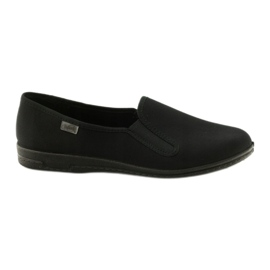 Musta slip-up-tossut Befado 001M060