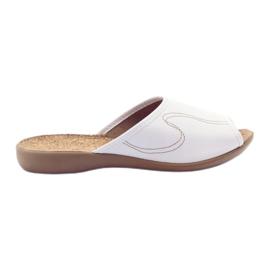 Befado naisten kengät tossut flip 254d058 valkoinen