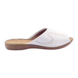 Valkoinen Befado naisten kengät tossut flip 254d058