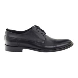 Badura klassiset mustat kengät miehille 7599