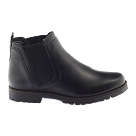 Caprice saappaat talvi naisten kengät 25468 musta