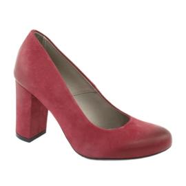 Klassiset naisten kengät Edeo 2119 Burgundy