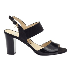 Musta Caprice sandaalit naisten kengät 28307