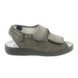 Sandaalit diabeetikoille Befado 676d006 harmaa