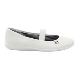 Naisten valkoiset lenkkarit Befado 493Q003 valkoiset valkoinen punainen monivärinen