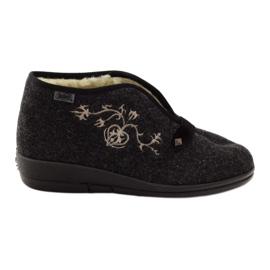 Befado-naisten kengät, joissa on turkikset 031d028 harmaa
