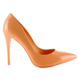 Oranssi Maalattu tasainen maali E396 Orange