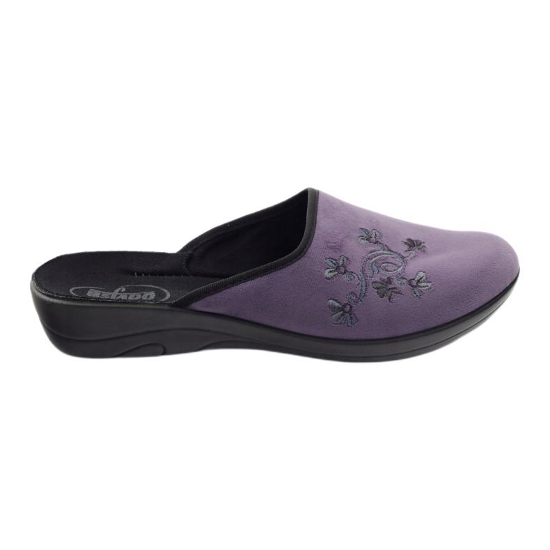 Befado naisten kengät tossut 552D006 violetti monivärinen