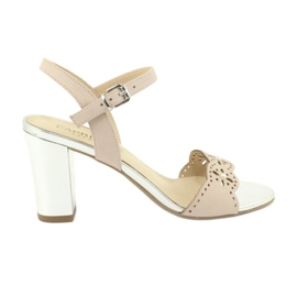 Caprice sandaalit naisten kengät 28303 pinkki