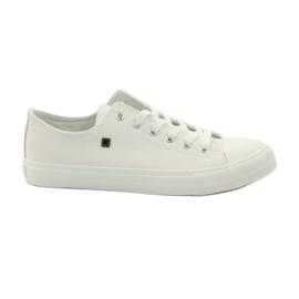 Valkoinen Sneaker-tennarit Big Star -kengännauhalle