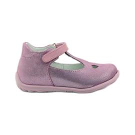Ren But Ren-kengät 1467 heather ballerinas pinkki