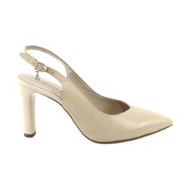 Caprice pumput sandaalit naisten kengät 29603 ruskea