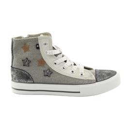 Harmaa Sneakerit sidottu Big star 374068: een