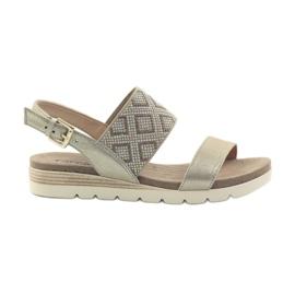 Caprice sandaalit naisten kengät 28604 keltainen