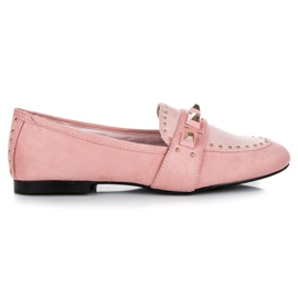 Vices pinkki Suede loafers