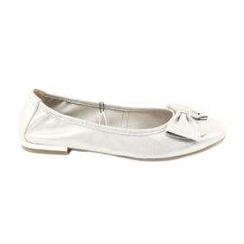 Caprice ballerinas kengät 22111 hopea harmaa