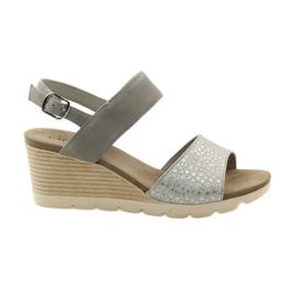 Caprice sandaalit naisten kengät 28701 harmaa