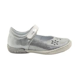 Harmaa Ballerinas-tyttöjen kengät Ren But 3285
