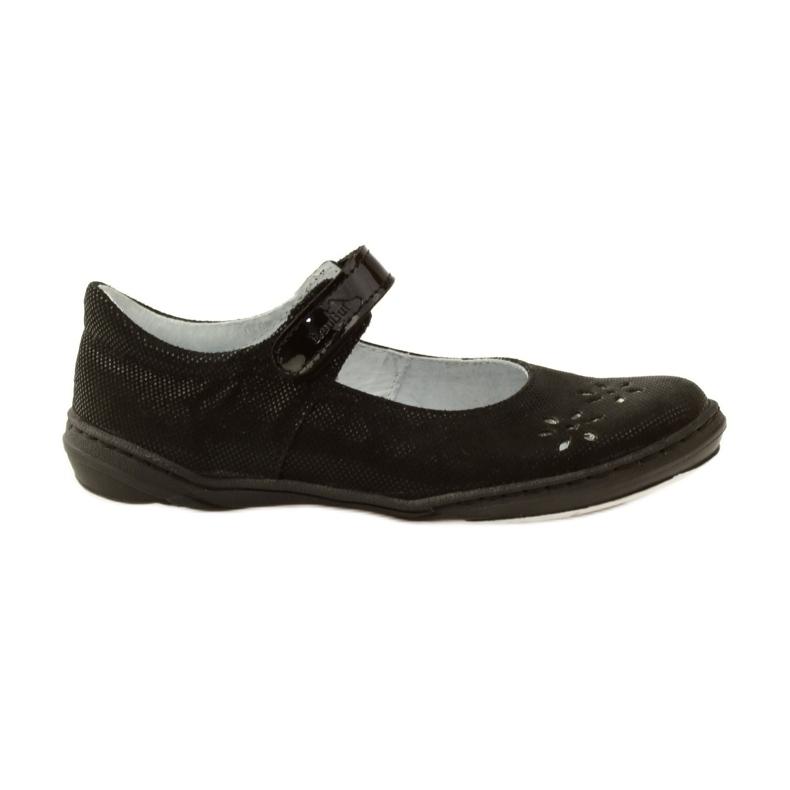 Ballerinas-tyttöjen kengät Ren But 4351 musta
