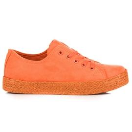 Kylie Oranssi Sneakers Espadrilles