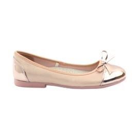 American Club Ballerinas-kengät, joissa on amerikkalainen keula