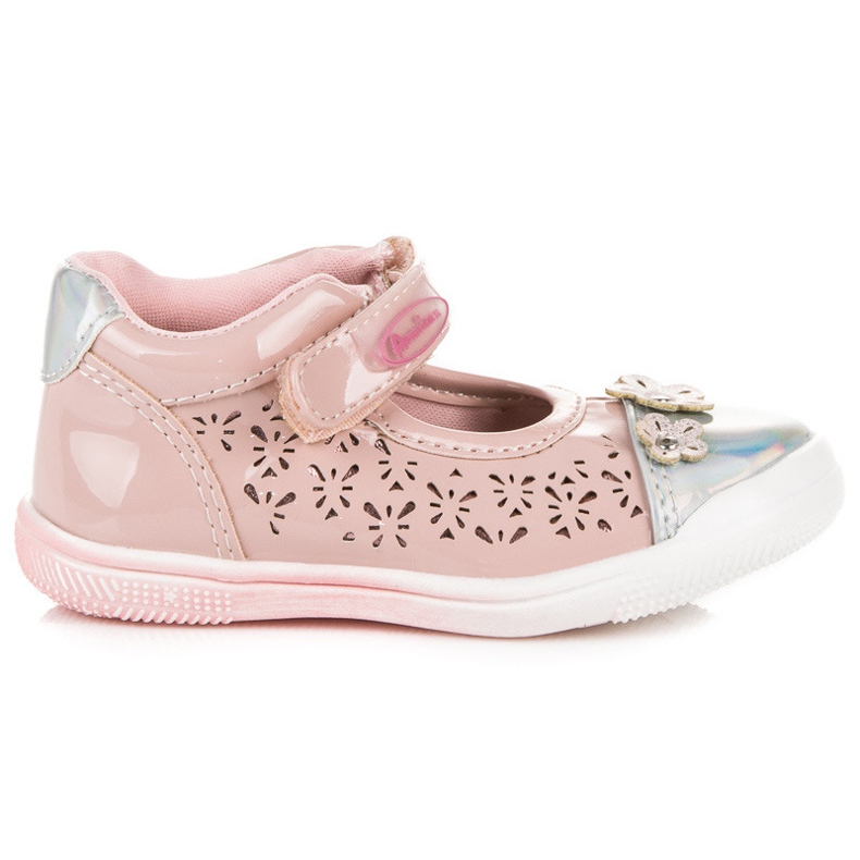 American Club Renkaat amerikkalaiset kengät pinkki