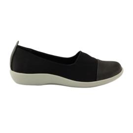 Musta Erittäin mukavat kengät Aloeloe slipons