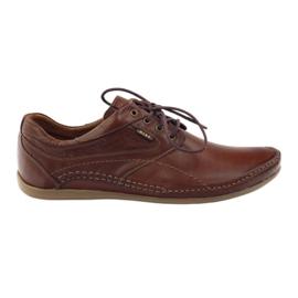 Ruskea Riko miesten vapaa-ajan kengät 844