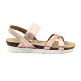 Naisten sandaalit Big Star 274368 pinkki