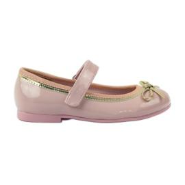 American Club Ballerinas-kengät, joissa on amerikkalainen keula pinkki