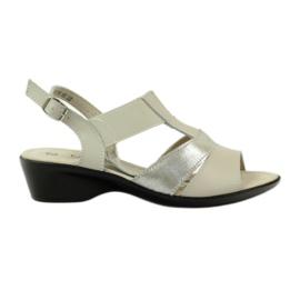 Filippo Kiilakorkoiset mukavat nahkaiset sandaalit