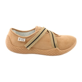 Ruskea Befado naisten kengät pu - young 434D017