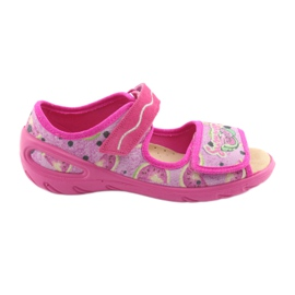 Pinkki Befado lasten kengät pu 433X030