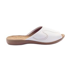 Befado naisten kengät pu 254D058 valkoinen