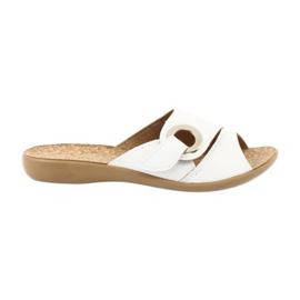 Befado naisten kengät pu 265D002 valkoinen