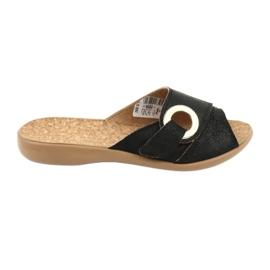 Musta Befado naisten kengät pu 265D005