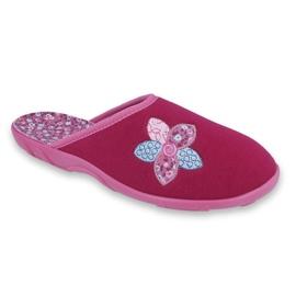 Befadon värilliset naisten kengät 235D156 pinkki