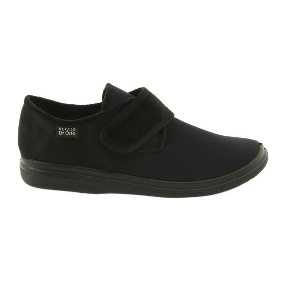 Befado miesten kengät pu 131M003 musta