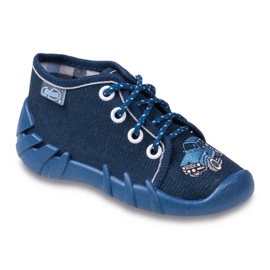 Befado laivasto sininen lasten kengät 130P058