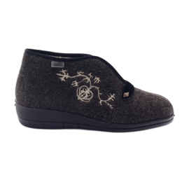 Befado naisten kengät pu 031D027 ruskea