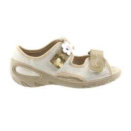 Keltainen Befado lasten kengät pu 065X121